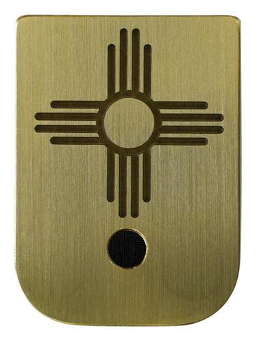 New Mexico Flag Mag Plate - 3 Finishes Available