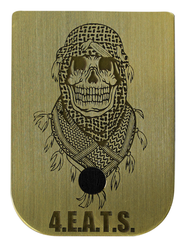 Shemagh Skull Mag Plate - 3 Finishes Available