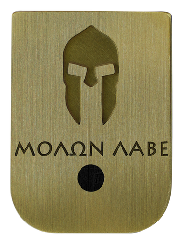 Molon Labe Mag Plate - 3 Finishes Available