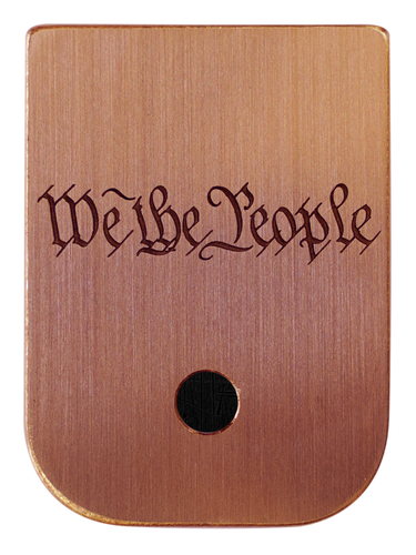 We The People Mag Plate - 3 Finishes Available