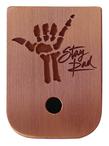 Stay Rad Mag Plate - 3 Finishes Available