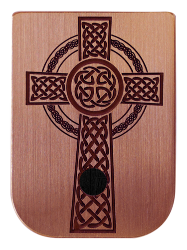 Celtic Cross Mag Plate - 3 Finishes Available