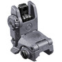 Magpul Industries, MBUS Back-Up Rear Sight Gen 2, Fits Picatinny Rails, Flip Up, Gray Finish