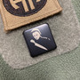 Michael Myers - Stainless steel - Black  Traditional- Metal Patch