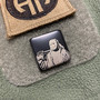 Jason - Stainless steel - Black  Traditional- Metal Patch
