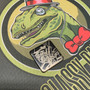 Freddy - Stainless steel - Black  Traditional- Metal Patch