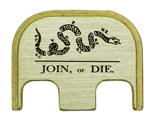 Join or Die Back Plate - 3 Finishes Available