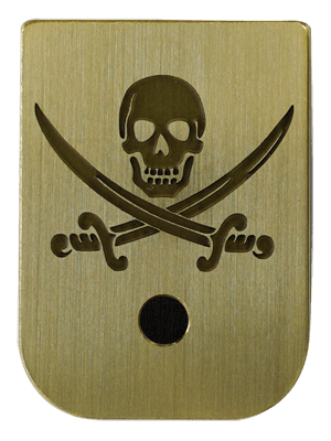 Calico Jack Mag Plate - 3 Finishes Available