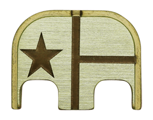 Texas Flag Back Plate - 3 Finishes Available