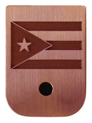 MPuerto Rico Flag Mag Plate - 3 Finishes Available