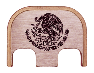Mexican Eagle Back Plate - 3 Finishes Available