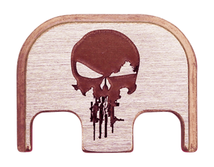 Rifle Skull Back Plate - 3 Finishes Available