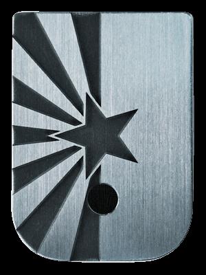 Arizona Flag Mag Plate - 3 Finishes Available