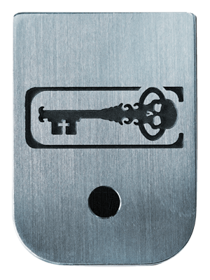 Skeleton Key Mag Plate - 3 Finishes Available