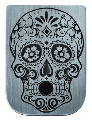 Sugar Skull Mag Plate - 3 Finishes Available