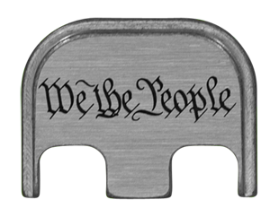 We The People Back Plate - 4 Finishes Available