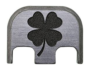 4 Leaf Clover Back Plate - 4 Finishes Available