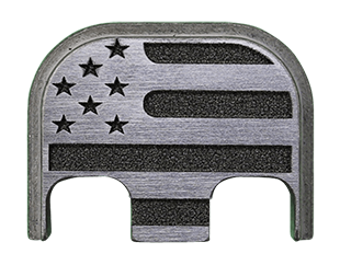 American Flag Back Plate - 4 Finishes Available