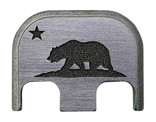 CALIFORNIA FLAG Back Plate - 4 Finishes Available