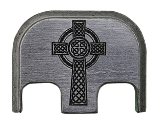 Celtic Cross Back Plate - 4 Finishes Available