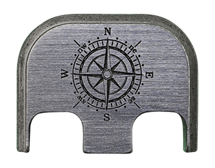 Compass Back Plate - 4 Finishes Available