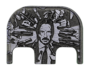 John Wick Back Plate - 4 Finishes Available