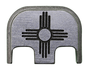 New Mexico Flag Back Plate - 4 Finishes Available