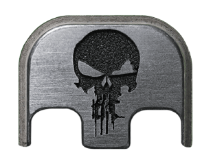 Rifle Skull Back Plate - 4 Finishes Available
