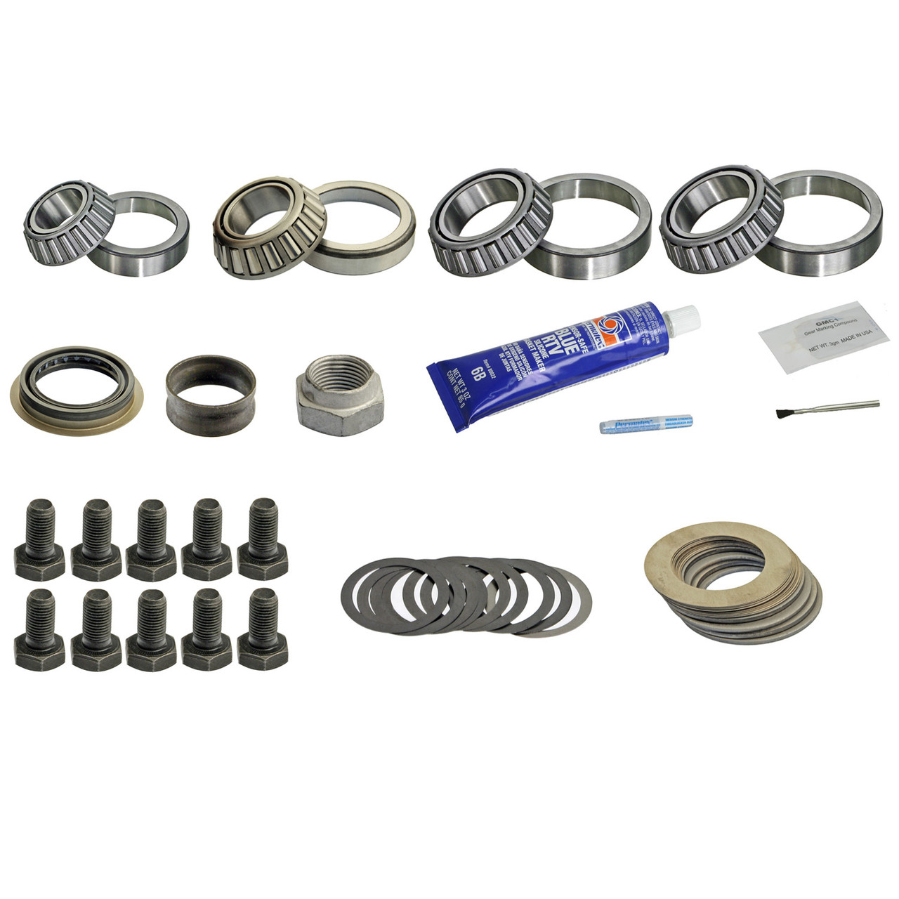 DRK321CMK GM 8 5 8 6 Master Timken Differential Bearing Kit '99-'08