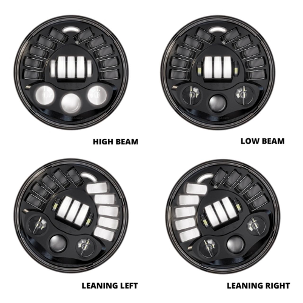 JW Speaker 3156351 Headlight Mount Ring for 8700 Evolution LED headlight