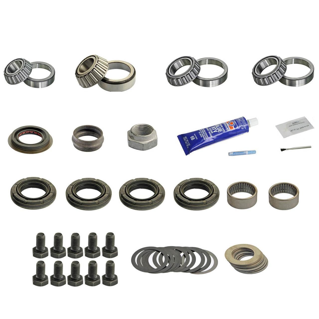 DRK321MK GM 8.5 Master Timken Differential Bearing Kit 1999 /& Earlier Non-Posi