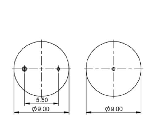as 4549 triangle contitech air spring bag drivetrain america rh drivetrainamerica com