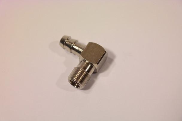 "Fuel Inlet Elbow for Carburetors 1/8""NPT for 1/4"" ID Fuel Lines"