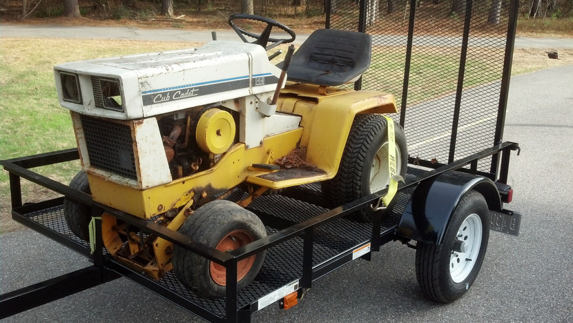 Opinion you Small garden tractors vintage or antique thanks