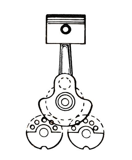 Counterweight Single Cylinder Engine Diagram