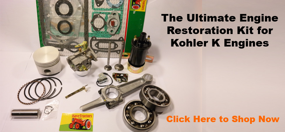 iSaveTractors - Your Source for Kohler K Engine Parts and Vintage