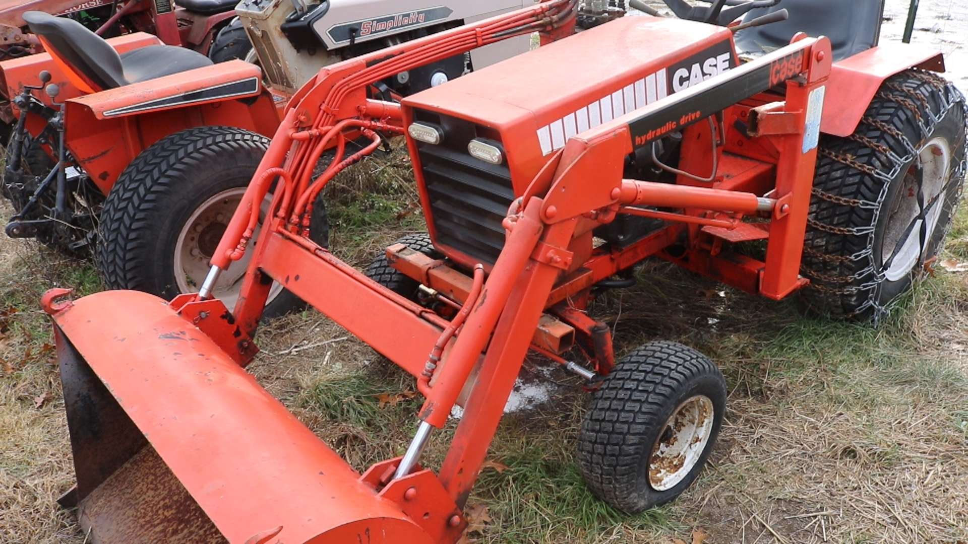 Best Vintage Garden Tractor For A Front End Loader Isavetractors