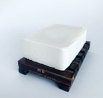 Bamboo Soap Dish- Stained Bamboo