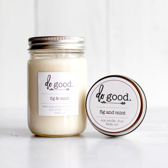 Fig and Mint 3 oz Candle