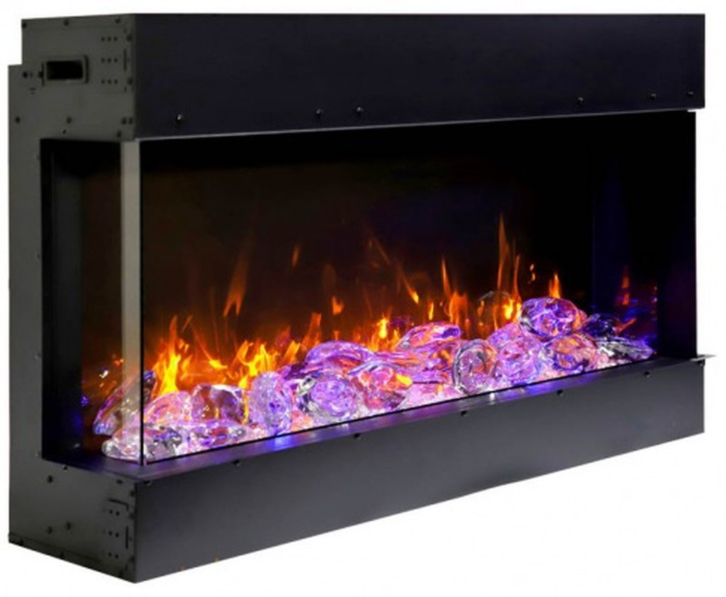 Amantii 40-TRU-VIEW-SLIM - 3 Sided Electric Fireplace