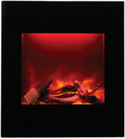 Amantii WM-BI-2428-VLR-BG Electric Fireplace