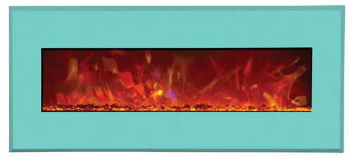 """Amantii 43"""" Wide  Wall Mount or Built In Designer - Electric Fireplace"""