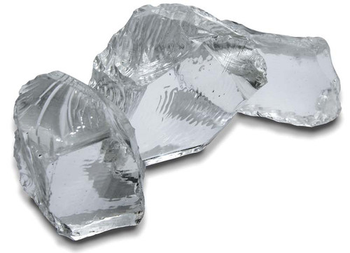 Box 3 extra large clear glass nuggets