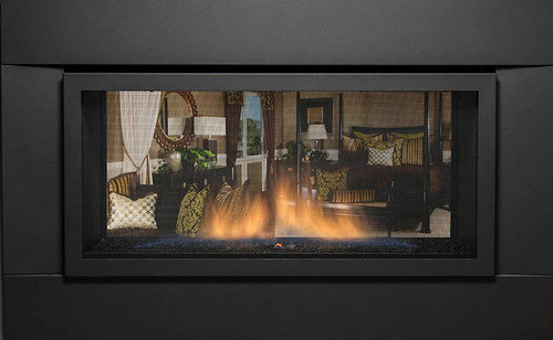 The Palisade 36 Direct Vent Linear Gas Fireplace