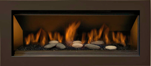 Sierra Flame Stanford 55L Direct Vent Linear Gas Fireplace
