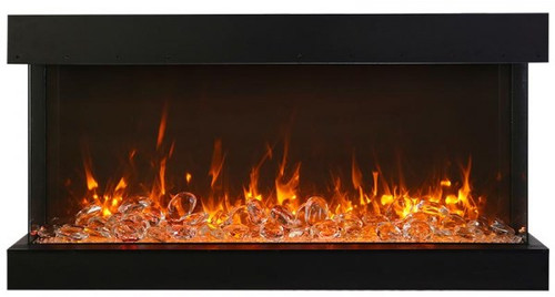 Amantii 72-TRU-VIEW-XL XT - 3 Sided Electric Fireplace