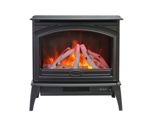 Lynwood E-70 Cast Iron Freestand Electric Fireplace