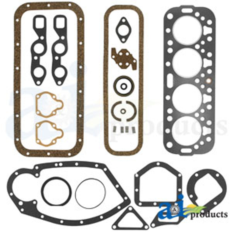 Engine gasket set A,B