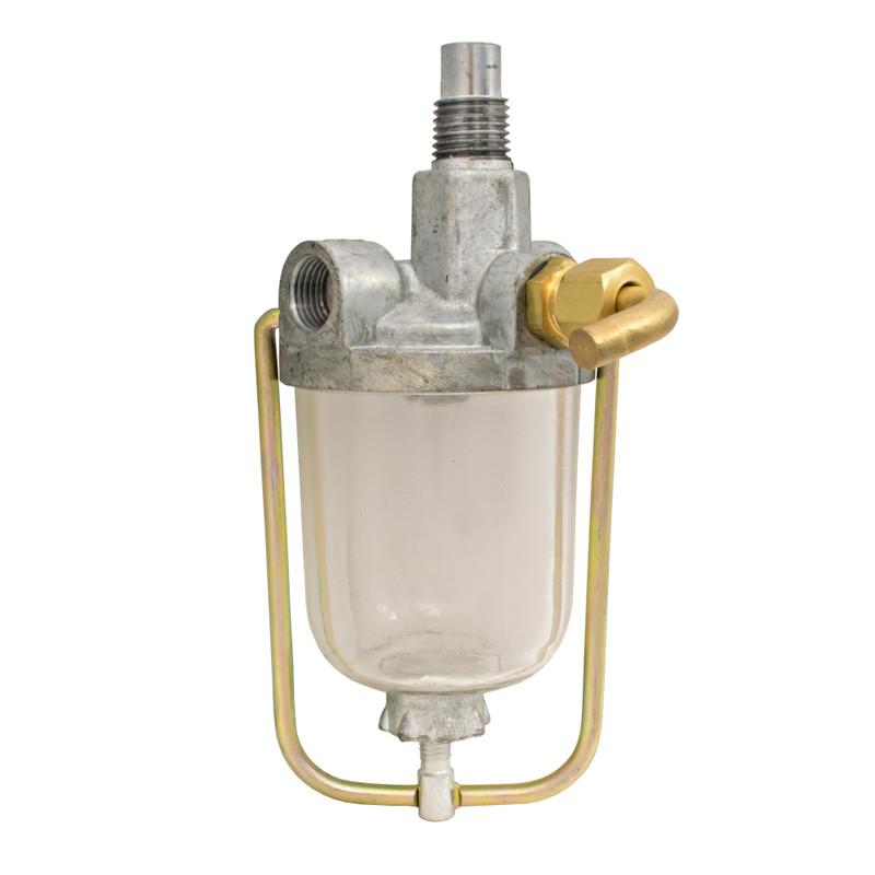 Fuel Strainer 2 outlet