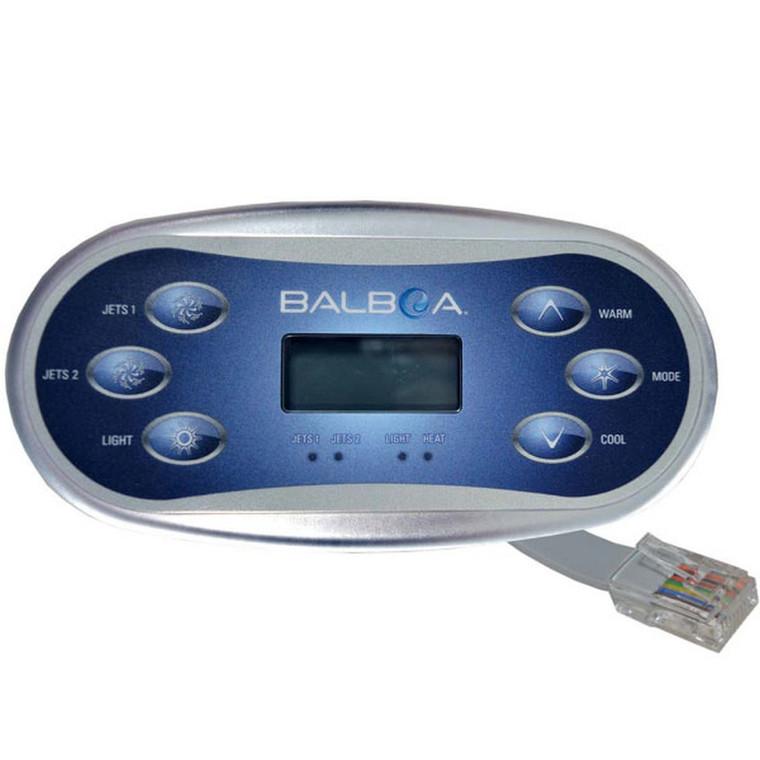 Balboa VL60S Topside Control - 6 Button 54548